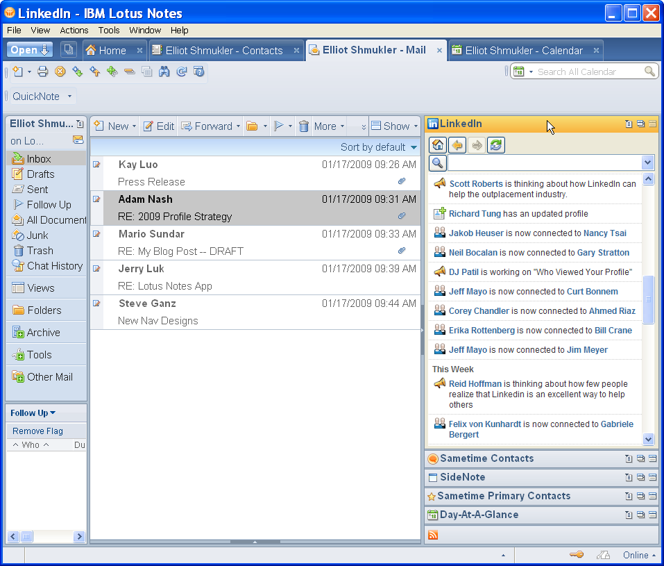 how to set out of office in lotus notes webmail