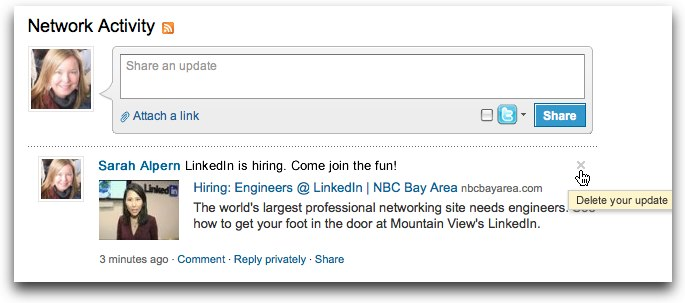 3715f827be4aac Sharing News on LinkedIn just got easier
