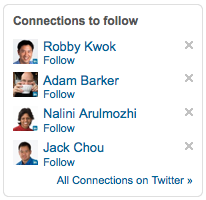 Find and Follow Your LinkedIn Connections on Twitter