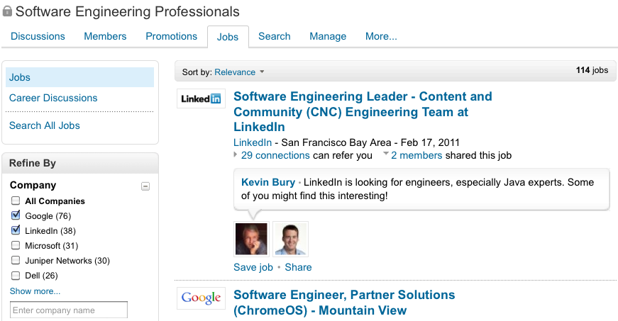 A revamped jobs experience in LinkedIn Groups | Official ...