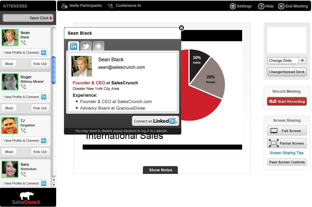 How LinkedIn Makes Online Meetings More Efficient ...