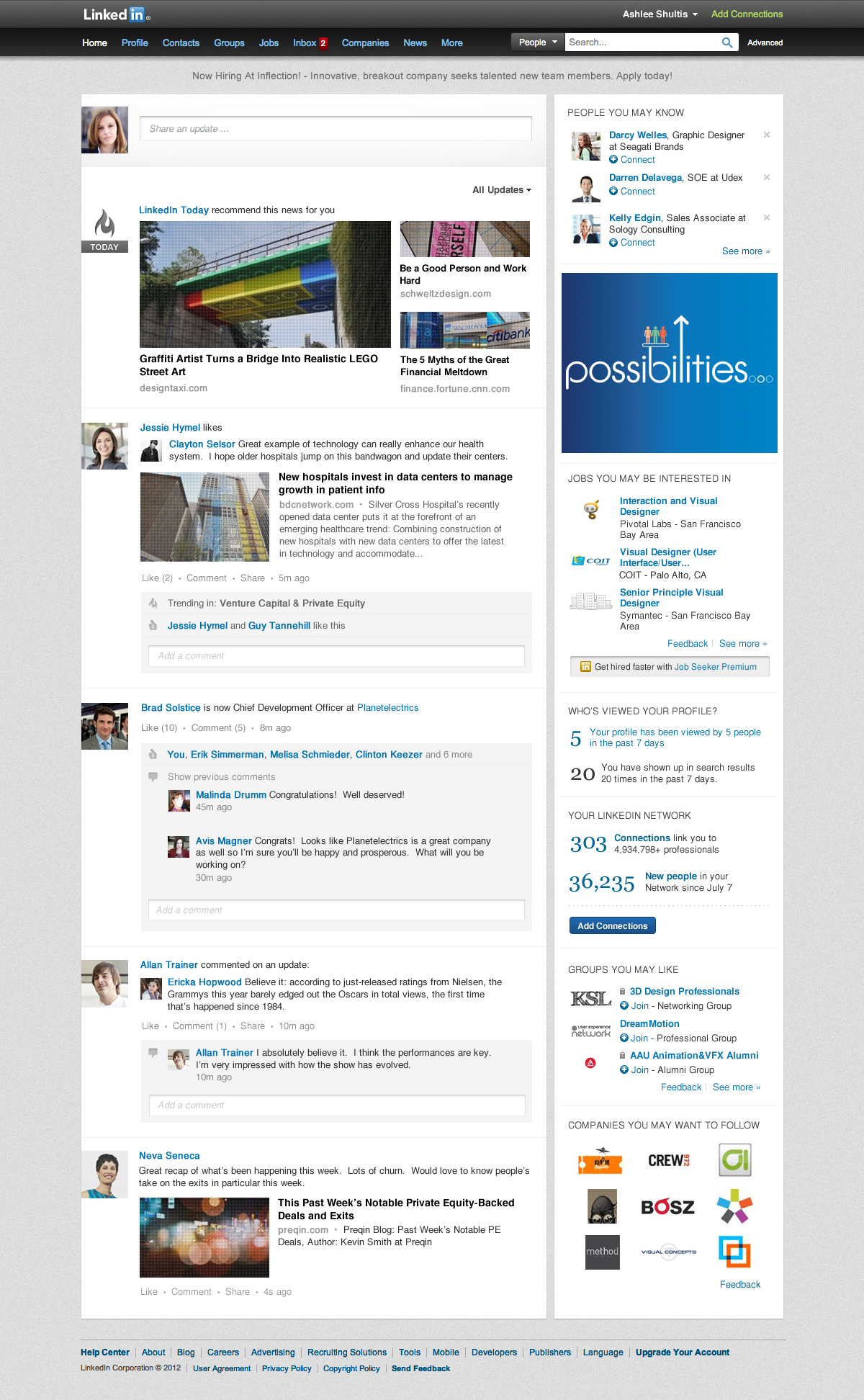 Introducing a Simpler Homepage | Official LinkedIn Blog
