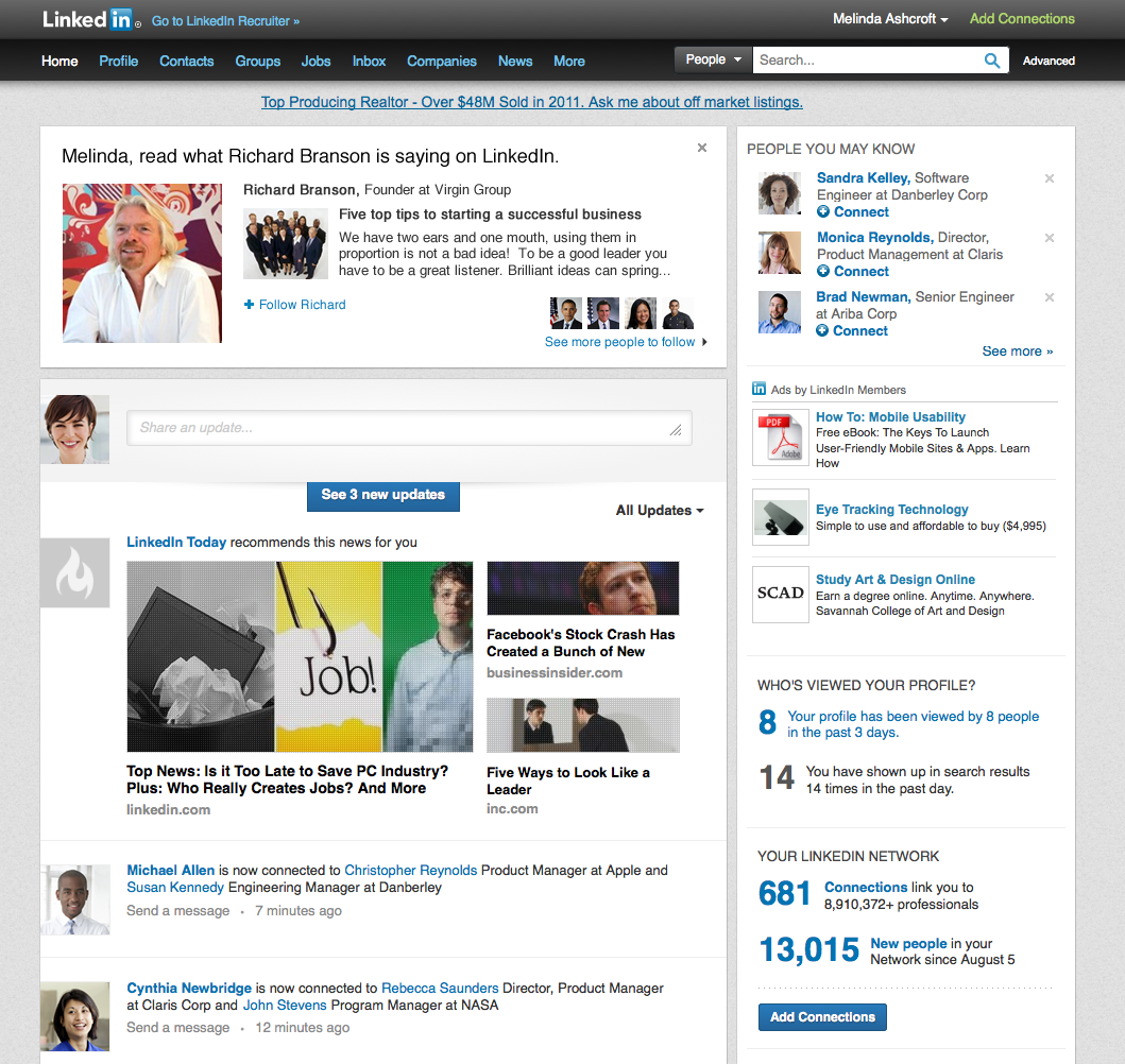 Introducing the Ability to Follow Thought Leaders on LinkedIn ...