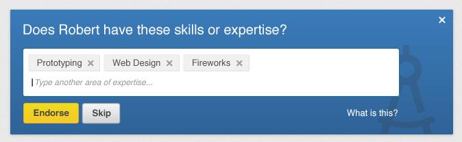 Suggest Skills Screenshot