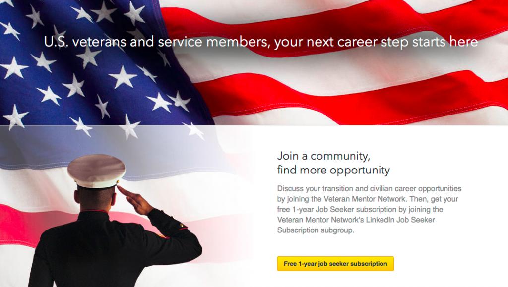 veterans microsite