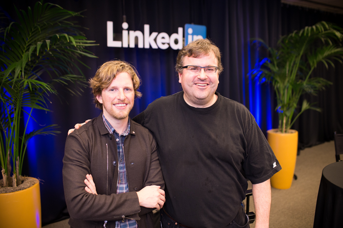 matt mullenweg and reid hoffman