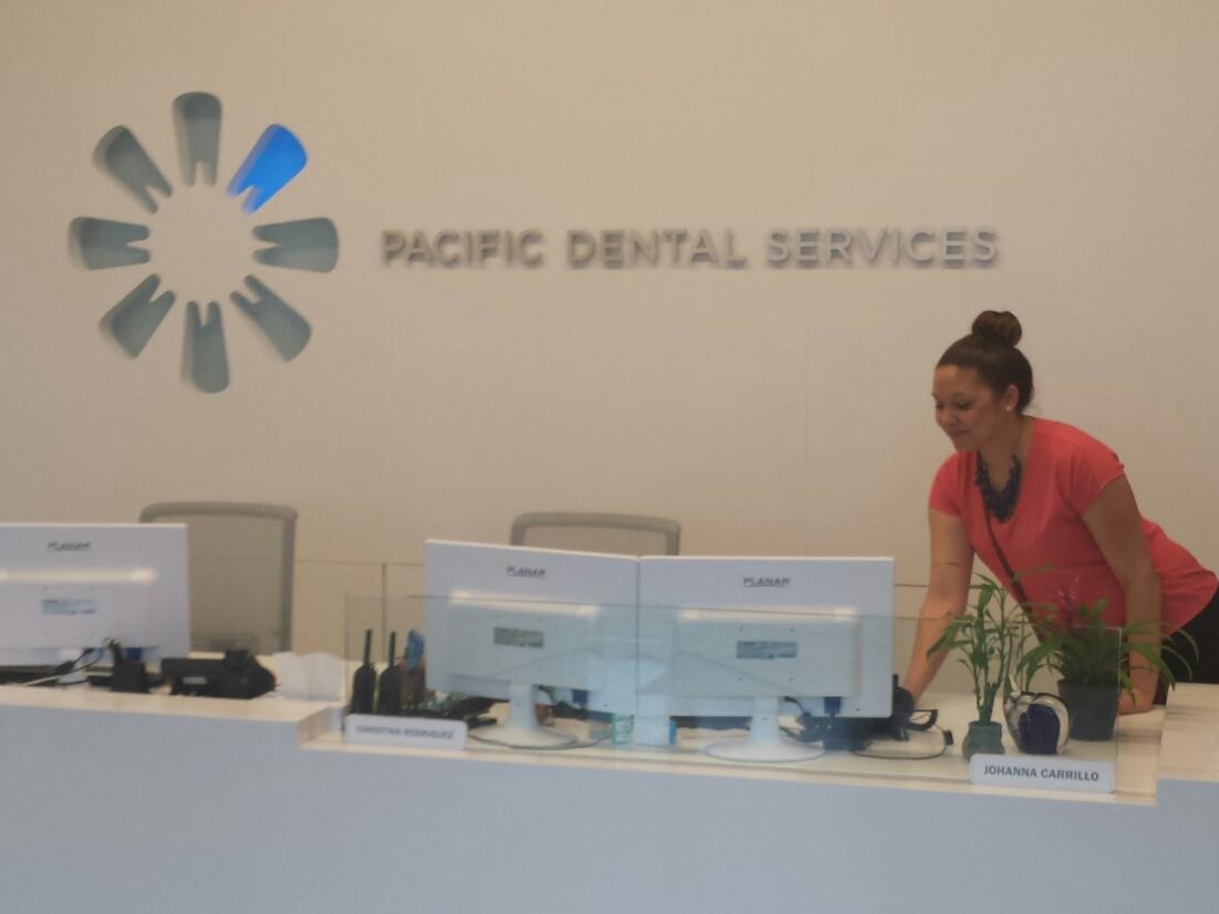 sabrina at pacific dental services