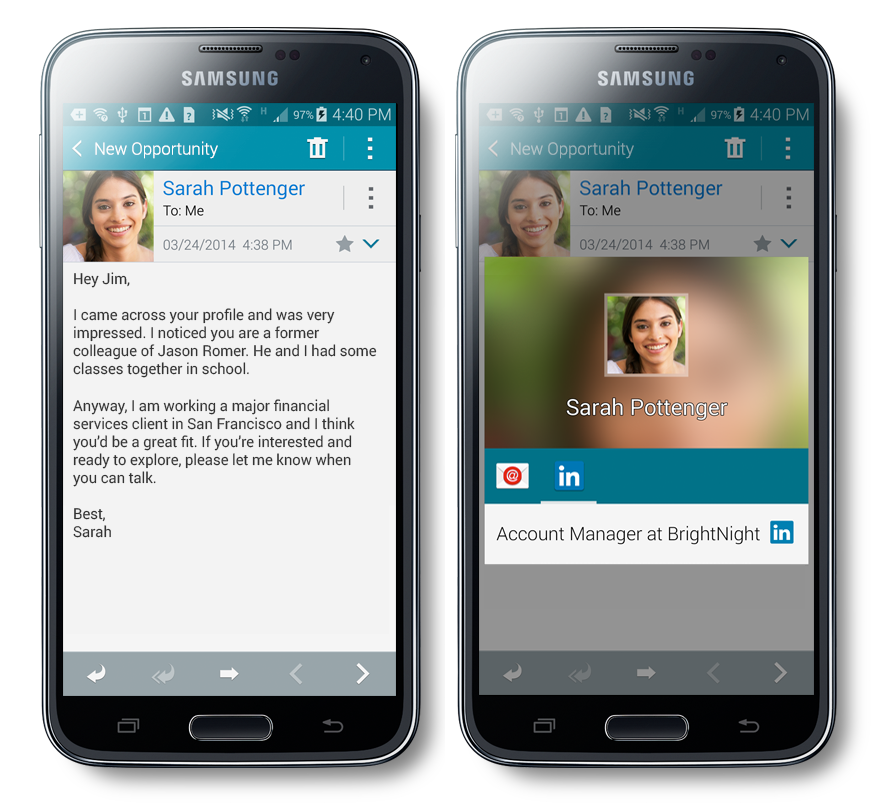 The Power Of Linkedin Is Built Into Your Samsung Galaxy S5