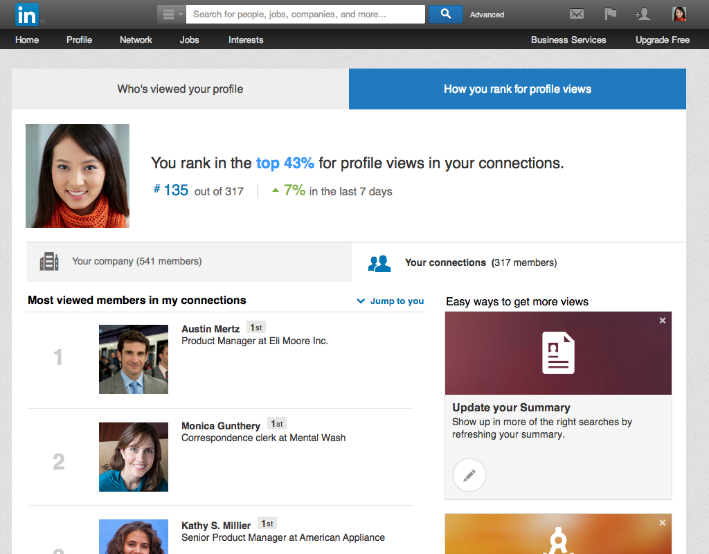 LinkedIn: Make The Most Of Who's Viewing Your LinkedIn Profile With