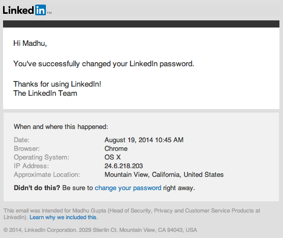 how to change linkedin tagline
