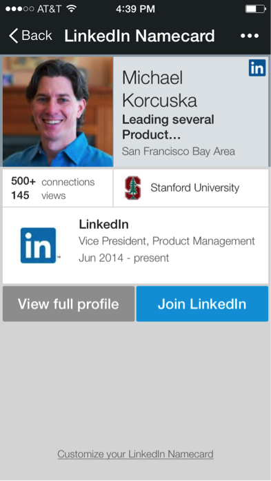 Linkedin and wechat more ways for you to manage your professional namecard2 colourmoves