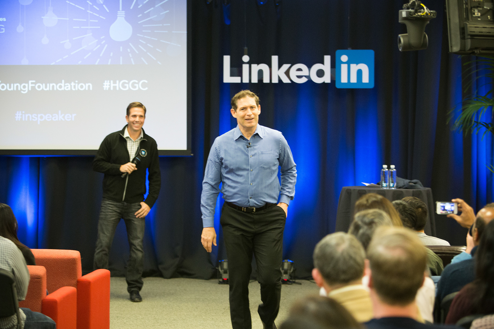 Steve Young at LinkedIn