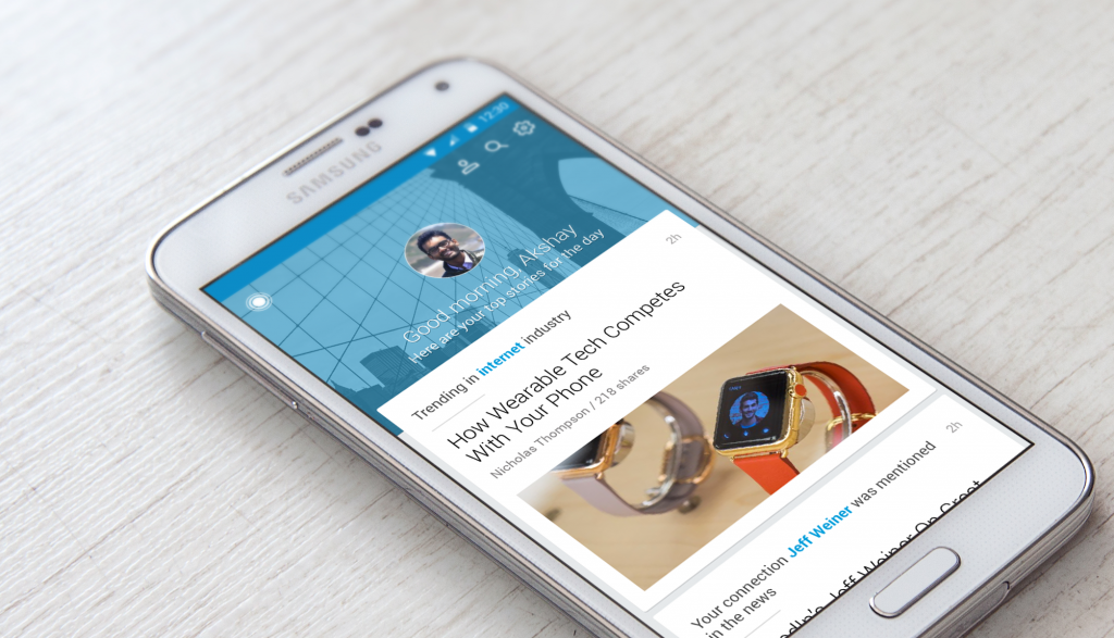 Linkedin Pulse Android