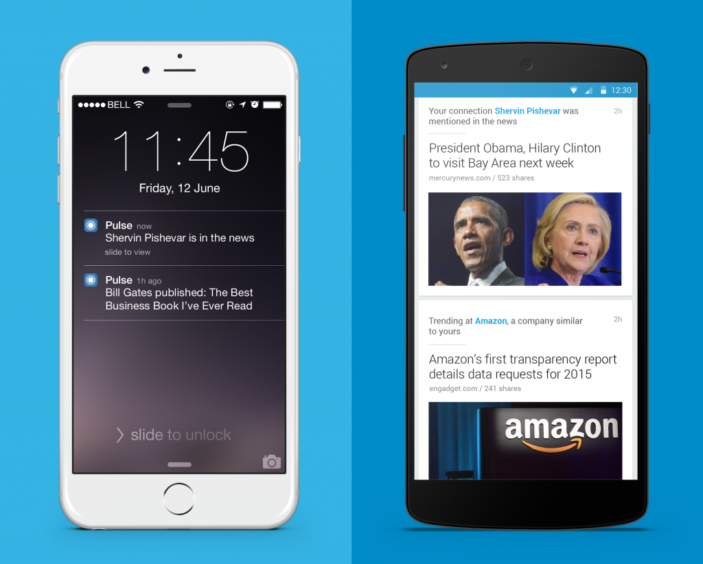 Linkedin Pulse iPhone and Android 3