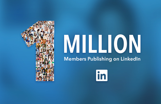 1 million publishers on LinkedIn