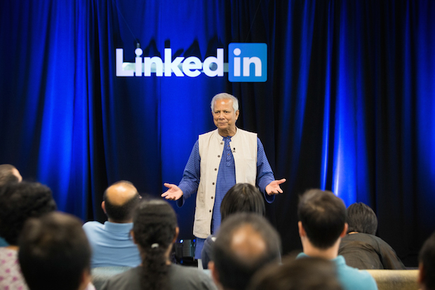 LinkedIn Speaker Series with Professor Muhammad Yunus