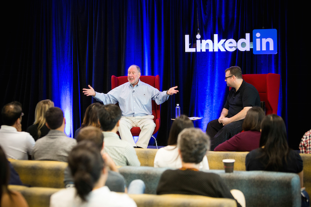 LinkedIn Speaker Series Robert Putnam