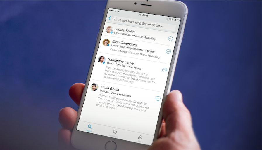 how to search jobs on linkedin app