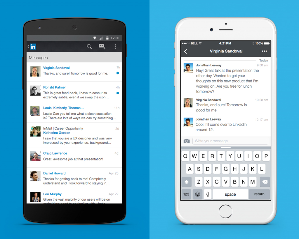 new messaging experience comes to linkedin, finally! | official
