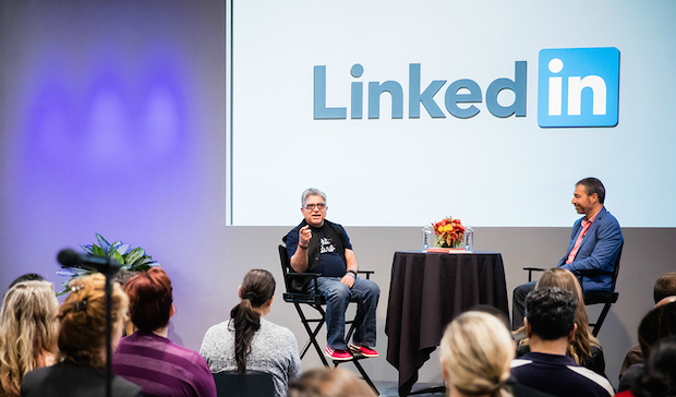Deepak Chopra LinkedIn Speaker Series