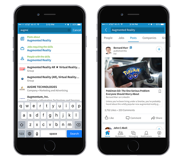 Tap Into Professional Knowledge with Content Search at LinkedIn | Official LinkedIn Blog