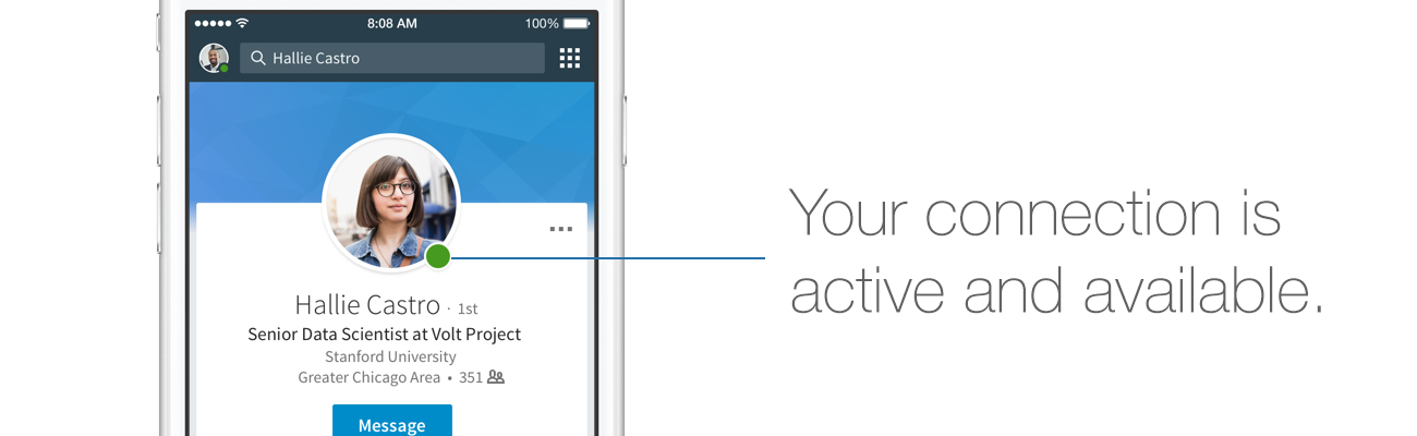 Introducing Active Status On Linkedin Messaging See When Your