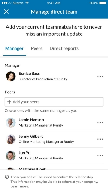 Add Teammates A New Way To Nurture Professional Relationships With Your Coworkers Official Linkedin Blog