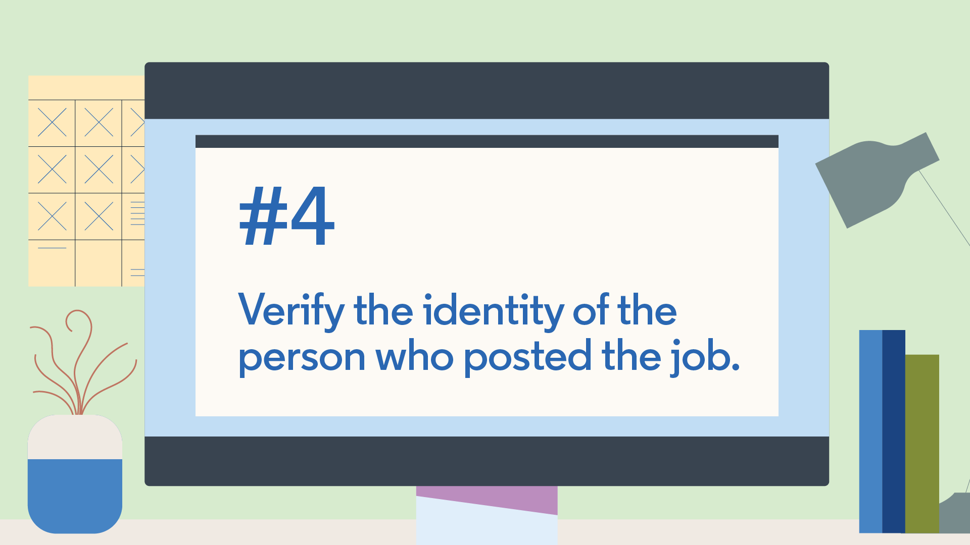 verify the job poster