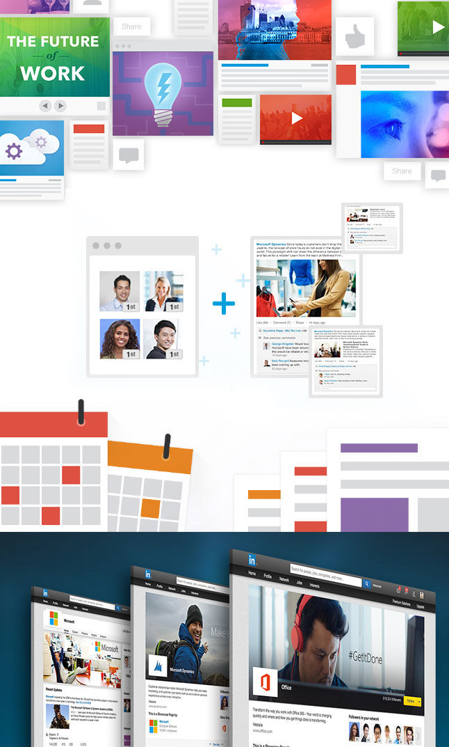Examples of LinkedIn illustrations