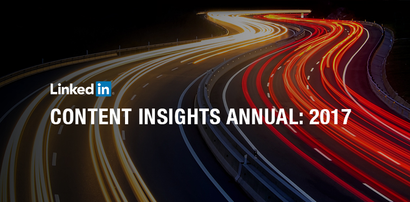 Even As We Move Deeper Into The New Year Its Always Instructive To Reflect Back On The Year That Was This Report Uses Linkedin Data To Gauge What Content