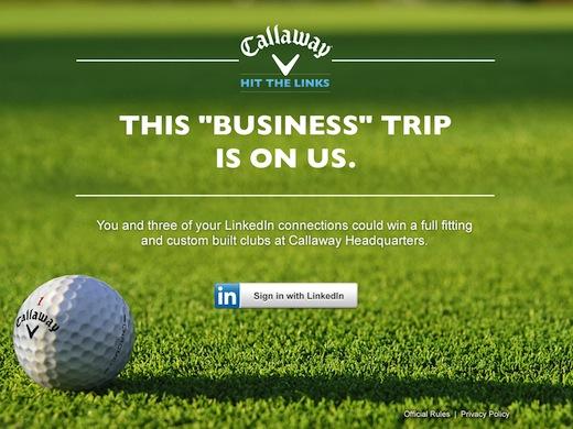 Marketing plan callaway golf