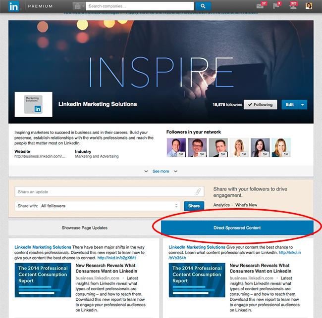 Direct-Sponsored-Content-Tab-LinkedIn
