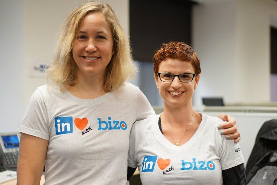 Bizo team shirts