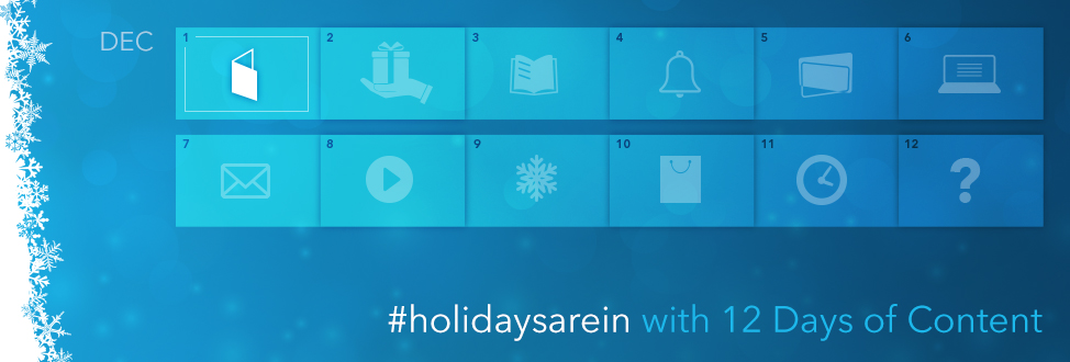 12 Days of Content - Day 1 Revealed
