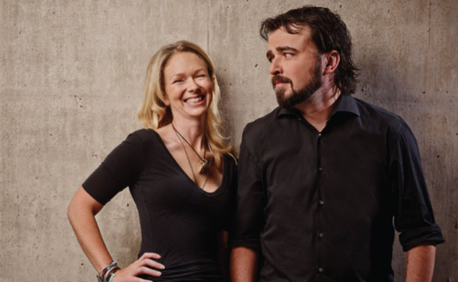Social Media Marketing Gurus Scott Stratten and Alison Kramer