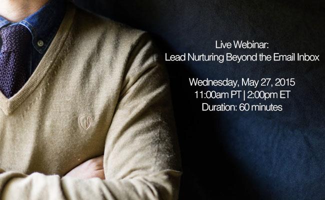 lead nurture webinar