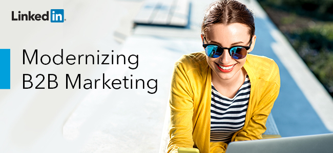 modernizing b2b marketing
