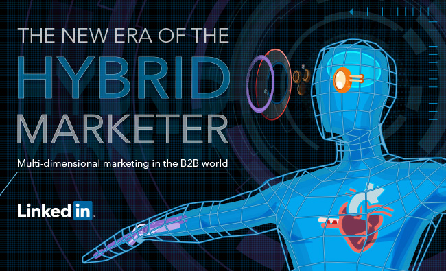 [New eBook] The Ultimate Guide to Becoming a True Hybrid Marketer | LinkedIn Marketing Blog