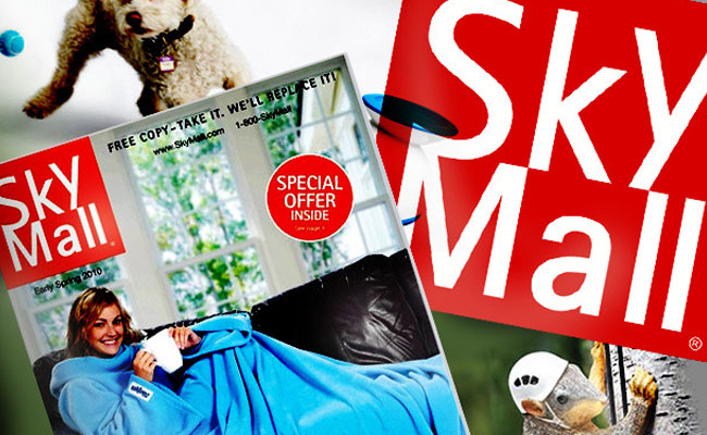 SkyMall Header