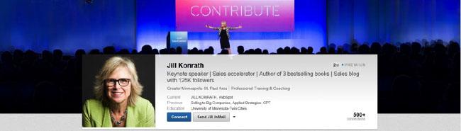 Jill Konrath Header