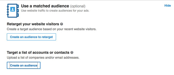 How to Use LinkedIn Matched Audiences   LinkedIn Marketing Blog