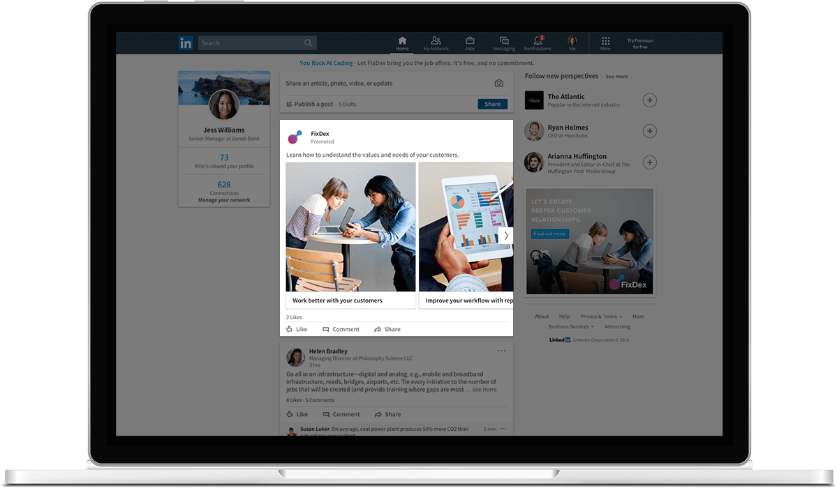 How 3 Companies Use LinkedIn Carousel Ads to Stand Out [Case Study
