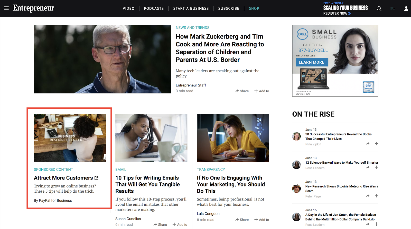 What Is Native Advertising and How to Use It | LinkedIn Marketing Blog