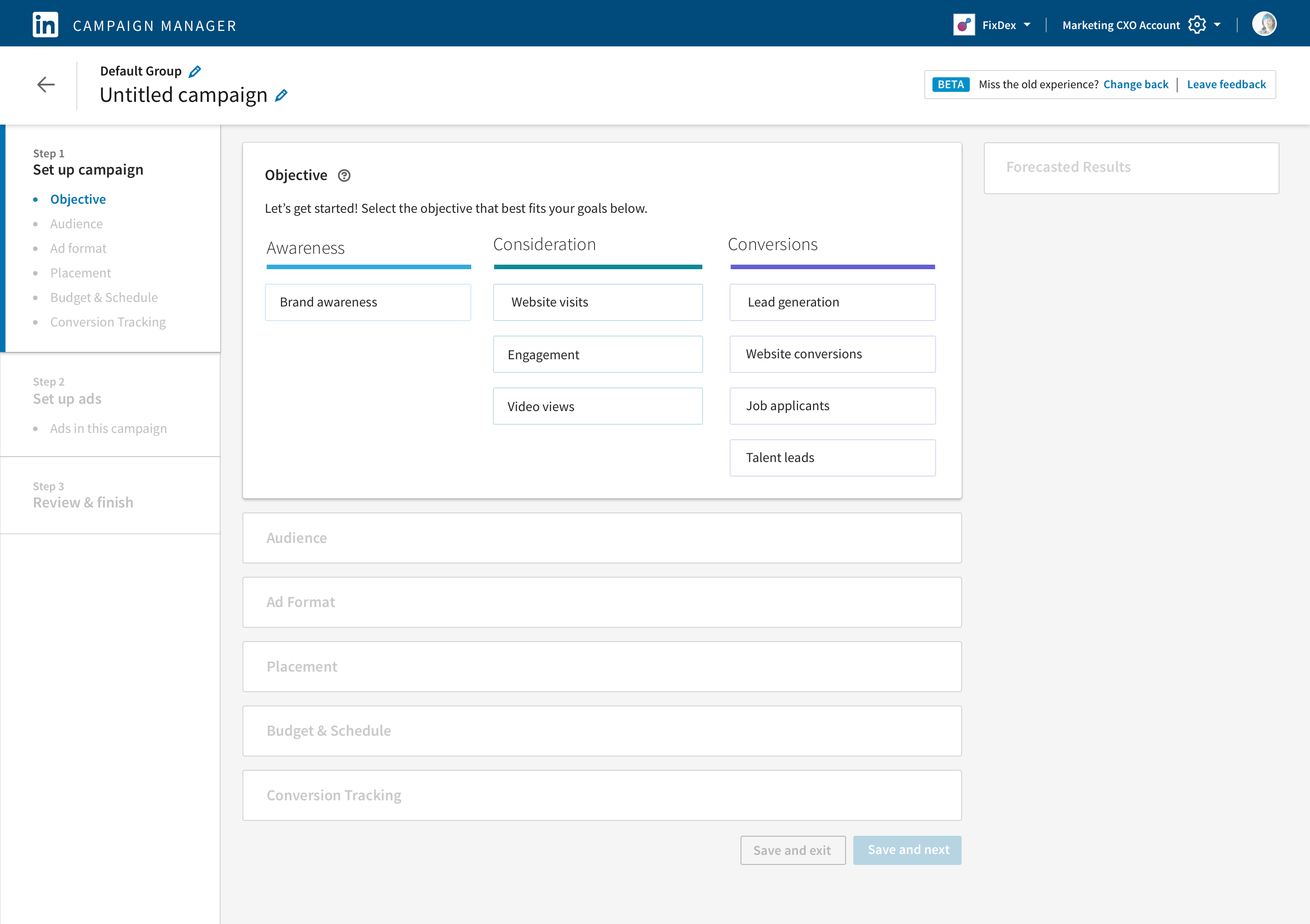 LinkedIn Introduces Public Beta of Objective-Based Advertising in Campaign Manager - LinkedIn Marketing Blog