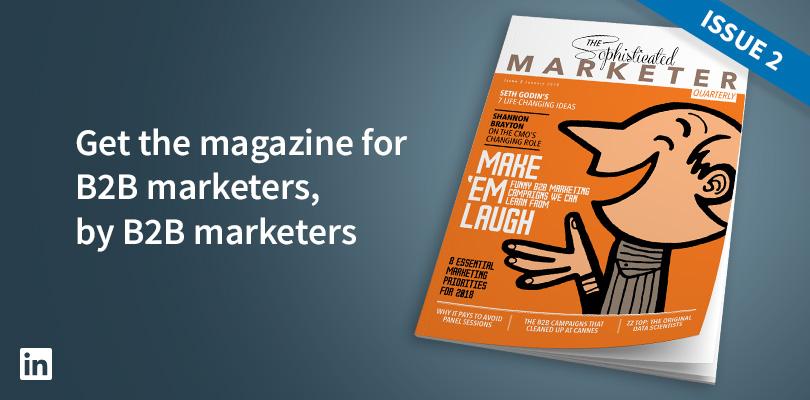 Linkedin Sophisticated Marketer Quarterly