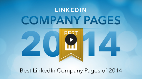 Best LinkedIn Company Pages of 2014