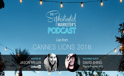 Live from Cannes Lions: David Shing on the Creative Process & Mind Mapping