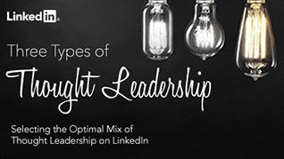 Selecting the Optimal Mix of Thought Leadership