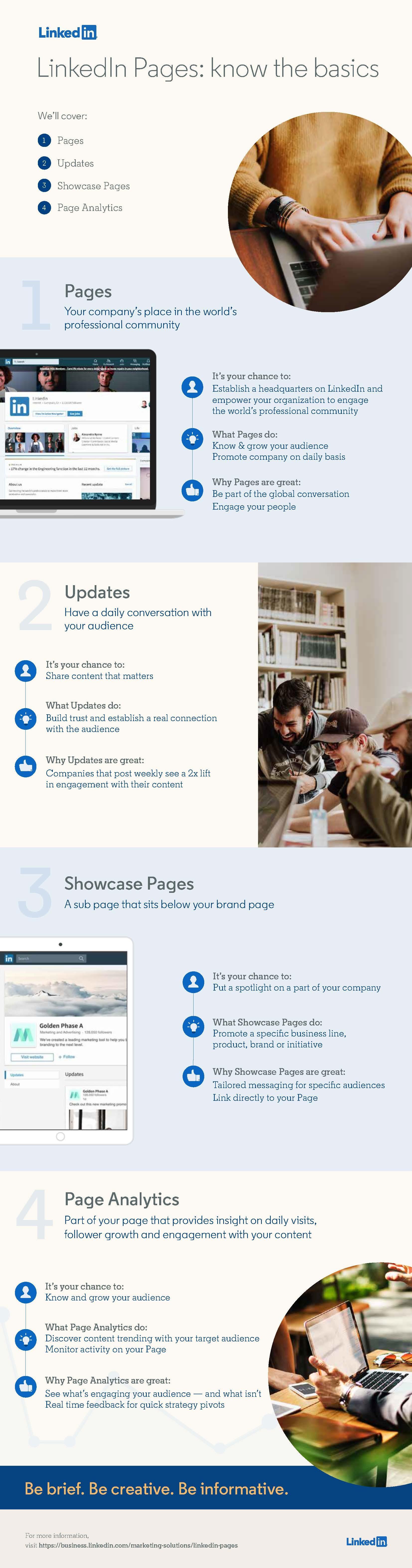 LinkedIn Pages - Basics