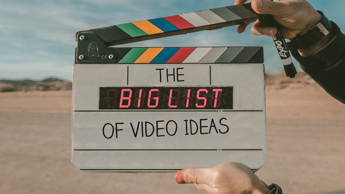 The Big List of B2B Video Ideas | The Sophisticated